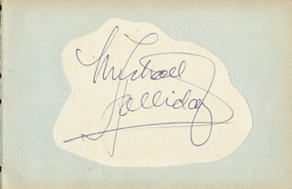 MICHAEL HOLLIDAY - AUTOGRAPH