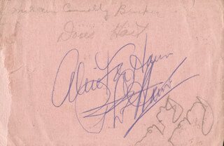 Autographs: RICHARD BURTON - TICKET SIGNED CO-SIGNED BY: PHIL HARRIS, DORIS HART, MAUREEN CONNOLLY BRINKER, ALICE FAYE