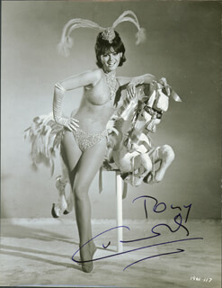CLAUDIA CARDINALE - AUTOGRAPHED INSCRIBED PHOTOGRAPH
