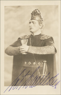 SET SVANHOLM - AUTOGRAPHED SIGNED PHOTOGRAPH