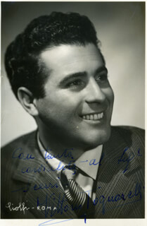 VITTORIO TOGNARELLI - AUTOGRAPHED SIGNED PHOTOGRAPH