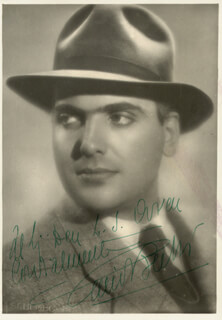 GINO BECHI - AUTOGRAPHED INSCRIBED PHOTOGRAPH