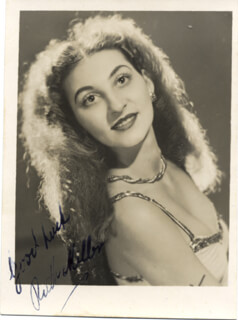 RUTH MILLER - AUTOGRAPHED SIGNED PHOTOGRAPH