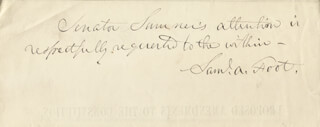 SAMUEL ALFRED FOOT - AUTOGRAPH NOTE SIGNED