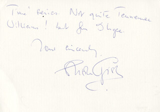 SHEILA GISH - AUTOGRAPH LETTER SIGNED