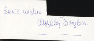 ANGELA DOUGLAS - AUTOGRAPH SENTIMENT SIGNED