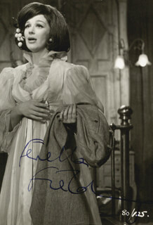 FENELLA FIELDING - AUTOGRAPHED SIGNED PHOTOGRAPH