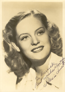 ALEXIS SMITH - AUTOGRAPHED INSCRIBED PHOTOGRAPH