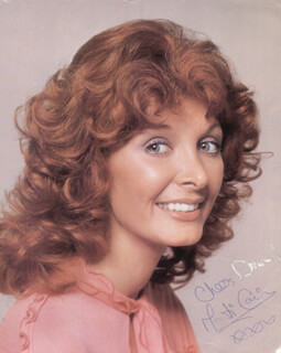 MARTI CAINE - AUTOGRAPHED SIGNED PHOTOGRAPH