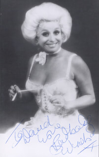 BARBARA WINDSOR - AUTOGRAPHED INSCRIBED PHOTOGRAPH