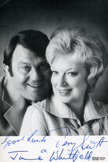 TERRY AND JUNE TV CAST - AUTOGRAPHED SIGNED PHOTOGRAPH CO-SIGNED BY: JUNE WHITFIELD, TERRY SCOTT