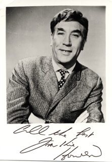 FRANKIE HOWERD - AUTOGRAPHED SIGNED PHOTOGRAPH