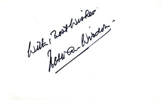 NORMAN WISDOM - AUTOGRAPH SENTIMENT SIGNED