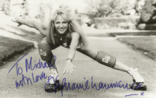 STEPHANIE LAWRENCE - AUTOGRAPHED INSCRIBED PHOTOGRAPH