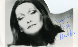 SIAN PHILLIPS - AUTOGRAPHED SIGNED PHOTOGRAPH