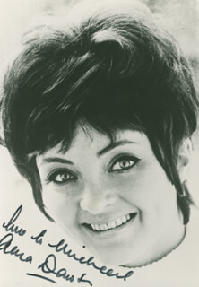ANNA DAWSON - AUTOGRAPHED INSCRIBED PHOTOGRAPH