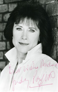 JUDY PARFITT - AUTOGRAPHED INSCRIBED PHOTOGRAPH
