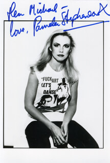 PAMELA STEPHENSON - AUTOGRAPHED INSCRIBED PHOTOGRAPH