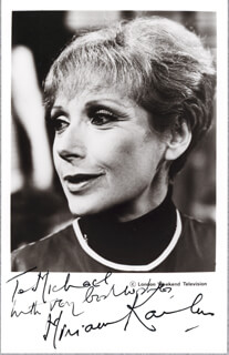 MIRIAM KARLIN - AUTOGRAPHED INSCRIBED PHOTOGRAPH