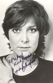 LYNDA BELLINGHAM - AUTOGRAPHED INSCRIBED PHOTOGRAPH