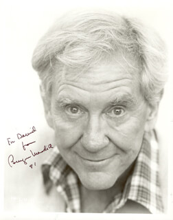 BURGESS MEREDITH - AUTOGRAPHED INSCRIBED PHOTOGRAPH CIRCA 1981