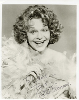 ESTELLE PARSONS - AUTOGRAPHED INSCRIBED PHOTOGRAPH