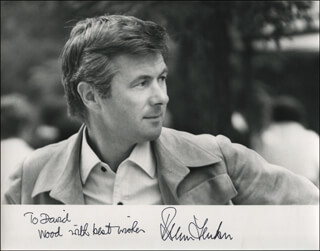 BRYAN FORBES - AUTOGRAPHED INSCRIBED PHOTOGRAPH