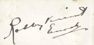 ROBBY ENOCH VINCENT - AUTOGRAPH