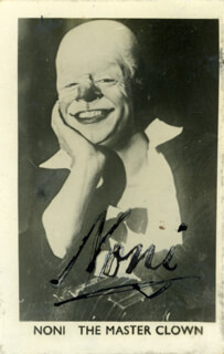 NONI - AUTOGRAPHED SIGNED PHOTOGRAPH