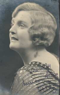 MIRIAM FERRIS - AUTOGRAPHED SIGNED PHOTOGRAPH 1936