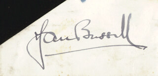JAN BUSSELL - AUTOGRAPH