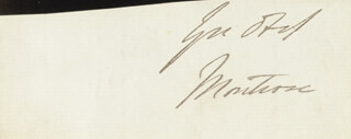 JAMES (4TH DUKE OF MONTROSE) GRAHAM - AUTOGRAPH SENTIMENT SIGNED
