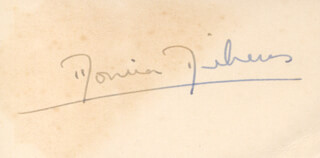 MONICA ENID DICKENS - AUTOGRAPH
