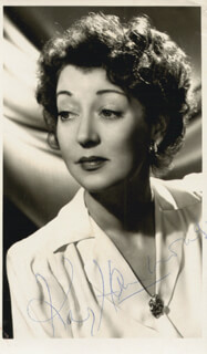 KAY HAMMOND - AUTOGRAPHED SIGNED PHOTOGRAPH