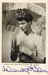 DAME WENDY HILLER - AUTOGRAPHED SIGNED PHOTOGRAPH