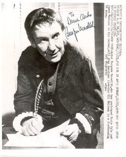 BURGESS MEREDITH - AUTOGRAPHED INSCRIBED PHOTOGRAPH CIRCA 1959