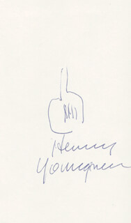 HENNY YOUNGMAN - ORIGINAL ART SIGNED