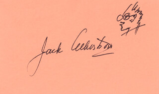 JACK ALBERTSON - SELF-CARICATURE SIGNED