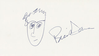 BILL DANA - SELF-CARICATURE SIGNED