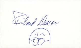 RICHARD DEACON - SELF-CARICATURE SIGNED