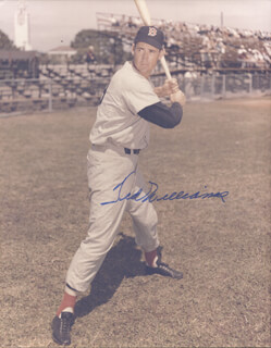 TED WILLIAMS - AUTOGRAPHED SIGNED PHOTOGRAPH