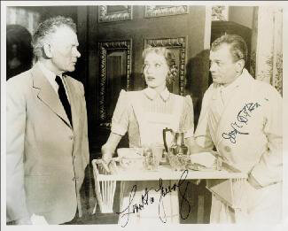 FARMER''S DAUGHTER MOVIE CAST, THE - AUTOGRAPHED SIGNED PHOTOGRAPH CO-SIGNED BY: JOSEPH COTTEN, LORETTA YOUNG