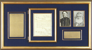 Autographs: GIDEON WELLES - MANUSCRIPT LETTER SIGNED 06/28/1864 CO-SIGNED BY: ADMIRAL DAVID G. FARRAGUT