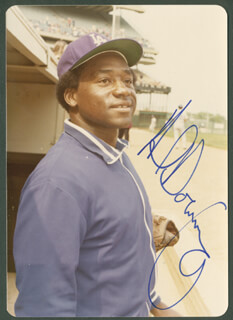 AL LITTLE AL DOWNING - AUTOGRAPHED SIGNED PHOTOGRAPH