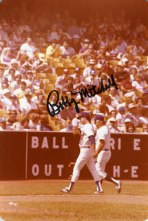 BOBBY MITCHELL - AUTOGRAPHED SIGNED PHOTOGRAPH