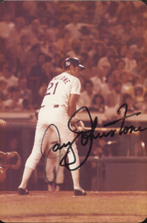 JAY JOHNSTONE - AUTOGRAPHED SIGNED PHOTOGRAPH