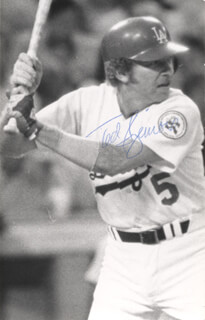 TED SIZEMORE - AUTOGRAPHED SIGNED PHOTOGRAPH