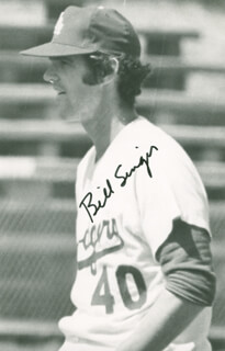 BILL SINGER - AUTOGRAPHED SIGNED PHOTOGRAPH