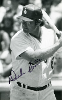 DUKE SIMS - AUTOGRAPHED SIGNED PHOTOGRAPH
