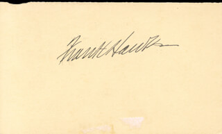 Autographs: FRANK M. HAWKS - POST CARD SIGNED CIRCA 1937